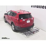 Curt Hitch Cargo Carrier Review - 2013 Toyota RAV4
