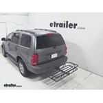 Curt Hitch Cargo Carrier Review - 2007 Dodge Durango