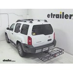 Curt Hitch Cargo Carrier Review - 2012 Nissan Xterra