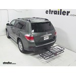 Curt Hitch Cargo Carrier Review - 2013 Toyota Highlander