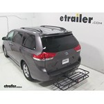 Curt Hitch Cargo Carrier Review - 2013 Toyota Sienna