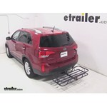 Curt Hitch Cargo Carrier Review - 2014 Kia Sorento