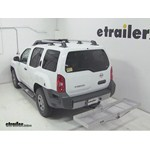 Curt Folding Aluminum Cargo Carrier Review - 2012 Nissan Xterra