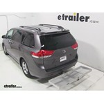 Curt Folding Aluminum Cargo Carrier Review - 2013 Toyota Sienna