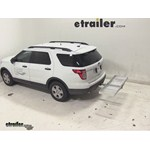 Curt Folding Aluminum Cargo Carrier Review - 2014 Ford Explorer