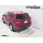 Curt Folding Aluminum Cargo Carrier Review - 2014 Kia Sorento