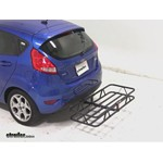 Curt Hitch Cargo Carrier Review - 2011 Ford Fiesta