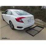 Curt Hitch Cargo Carrier Review - 2017 Honda Civic