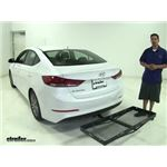 Curt Hitch Cargo Carrier Review - 2017 Hyundai Elantra
