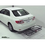 Curt Hitch Cargo Carrier Review - 2011 Toyota Corolla