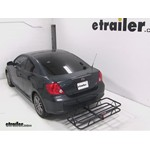Curt Hitch Cargo Carrier Review - 2007 Scion tC