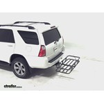 Curt Hitch Cargo Carrier Review - 2007 Toyota 4Runner
