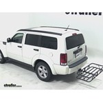 Curt Hitch Cargo Carrier Review - 2008 Dodge Nitro