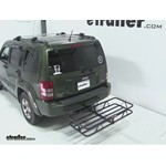 Curt Hitch Cargo Carrier Review - 2008 Jeep Liberty