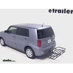 Curt Hitch Cargo Carrier Review - 2010 Scion xB