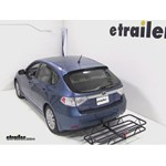 Curt Hitch Cargo Carrier Review - 2010 Subaru Impreza