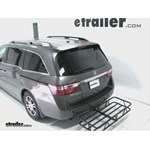 Curt Hitch Cargo Carrier Review - 2011 Honda Odyssey