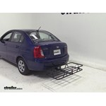 Curt Hitch Cargo Carrier Review - 2011 Hyundai Accent