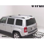 Curt Hitch Cargo Carrier Review - 2011 Jeep Patriot