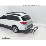 Curt Hitch Cargo Carrier Review - 2011 Subaru Outback Wagon