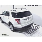 Curt Hitch Cargo Carrier Review - 2012 Ford Explorer