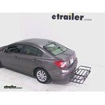 Curt Hitch Cargo Carrier Review - 2012 Honda Civic