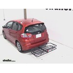 Curt Hitch Cargo Carrier Review - 2012 Honda Fit