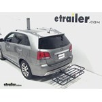 Curt Hitch Cargo Carrier Review - 2012 Kia Sorento