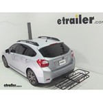 Curt Hitch Cargo Carrier Review - 2012 Subaru Impreza