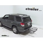 Curt Hitch Cargo Carrier Review - 2012 Toyota 4Runner