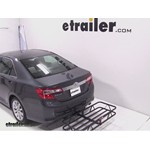 Curt Hitch Cargo Carrier Review - 2012 Toyota Camry