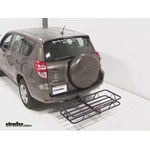 Curt Hitch Cargo Carrier Review - 2012 Toyota RAV4
