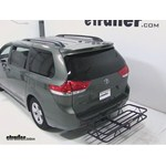 Curt Hitch Cargo Carrier Review - 2012 Toyota Sienna