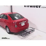 Curt Hitch Cargo Carrier Review - 2013 Chevrolet Sonic