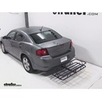 Curt Hitch Cargo Carrier Review - 2013 Dodge Avenger