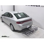 Curt Hitch Cargo Carrier Review - 2013 Dodge Dart