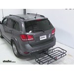 Curt Hitch Cargo Carrier Review - 2013 Dodge Journey