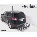 Curt Hitch Cargo Carrier Review - 2013 Ford Escape