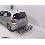 Curt Hitch Cargo Carrier Review - 2013 Honda Fit