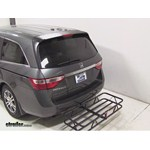 Curt Hitch Cargo Carrier Review - 2013 Honda Odyssey