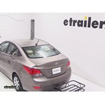 Curt Hitch Cargo Carrier Review - 2013 Hyundai Accent