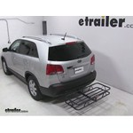Curt Hitch Cargo Carrier Review - 2013 Kia Sorento