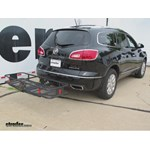 Curt Hitch Cargo Carrier Review - 2014 Buick Enclave