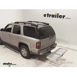 Curt Folding Aluminum Cargo Carrier Review - 2005 Chevrolet Tahoe