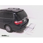 Curt Folding Aluminum Cargo Carrier Review - 2007 Honda Odyssey