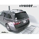 Curt Folding Aluminum Cargo Carrier Review - 2011 Honda Odyssey