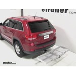 Curt Folding Aluminum Cargo Carrier Review - 2011 Jeep Grand Cherokee