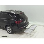 Curt Folding Aluminum Cargo Carrier Review - 2012 Acura MDX