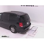 Curt Folding Aluminum Cargo Carrier Review - 2012 Dodge Grand Caravan