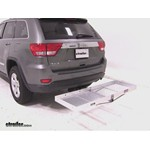 Curt Folding Aluminum Cargo Carrier Review - 2012 Jeep Grand Cherokee